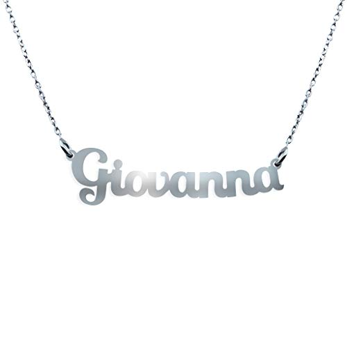 Collana con Nome in Argento (Giovanna)