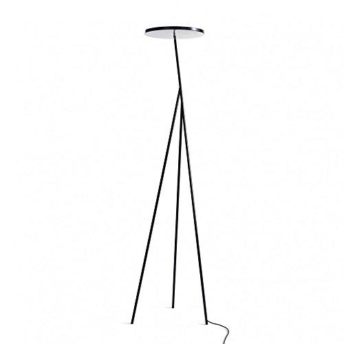 Anta Faro LED Stehleuchte, schwarz lackiert Größe 1 H 186cm 2700K 6700lm