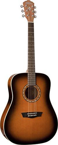 Washburn Harvest WD7SATBM - Guitarra acústica, color tobacco sunburst