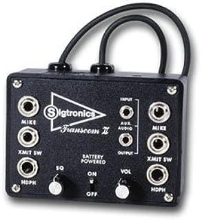 sigtronics 2 place intercom