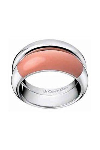 Calvin Klein ck Ellipse Double Ring Koralle, KJ03NR010308