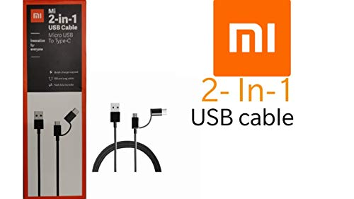 MI 2-in 1 USB Cable and Type-C