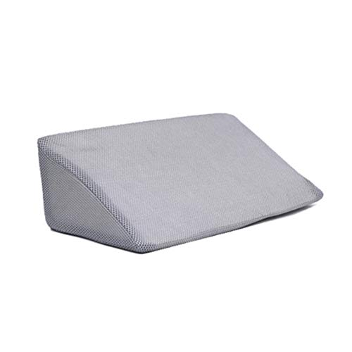 Acid Reflux Pillow,Bed Wedge Pillow Anti-decubitus 3D Mesh Breathable Turn Over Triangle Pillow Cushion Best For Sleeping, Acid Reflux, Post Surgery, Reading, Snoring & Sleep Breathing Disorders
