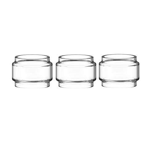 RUIYITECH - Tubo de cristal grueso para TFV8 Baby V2, color arcoíris transparente, 5 ml, 3 unidades transparente
