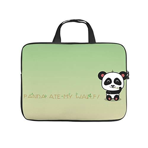 Funda para portátil con diseño de oso panda