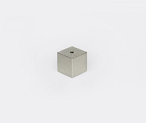 Hakuhodo Sumitani Messingwürfel Räucherstäbchenhalter Japan - Silber