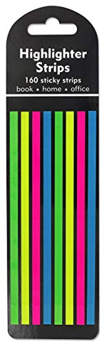 Highlighter Strips Stickers: 160 Strips
