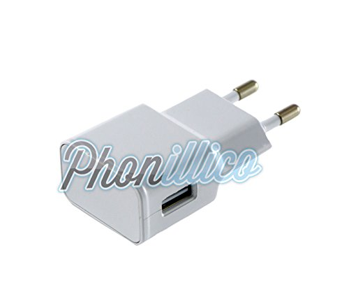 Phonillico oplader voor Samsung Galaxy A3 2017, wit