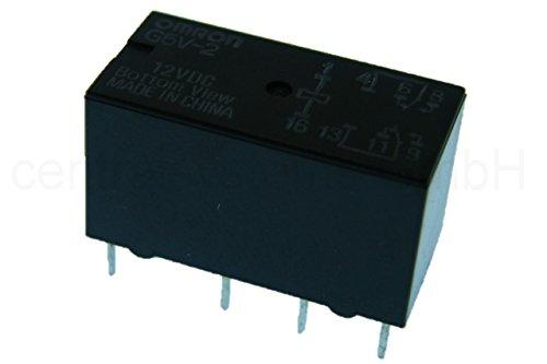 Omron Relais G5V-2 12V DC Print Relais 2 Wechsler