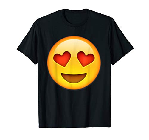 Emoji T-shirt - Heart Eyes Face