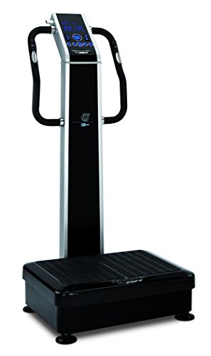 BH Fitness Vibrationsplattform Vibrationsplatte VIB, Schwarz