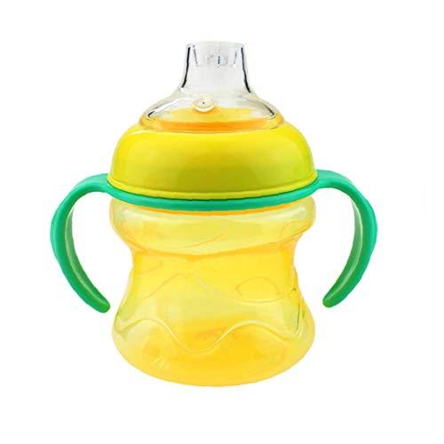Copas Para Niños Con Forma De Pico De Pato De La Boca De La Botella De Alimentación Del Bebé Del Entrena - Amarillo