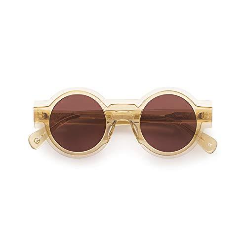 KALEOS Sunglasses Caster 10 Champagne Dark Violet C.010 45 100% Authentic New