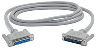StarTech.com 6 ft Straight Through DB25 Serial/Parallel Cable - M/F (SC6MF) -