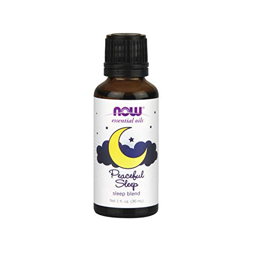 NOW Essential Oils, Peaceful Sleep Oil Blend, Relaxing Aromatherapy...