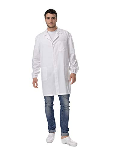 Amelia Camice Bianco Unisex da Laboratorio (M)