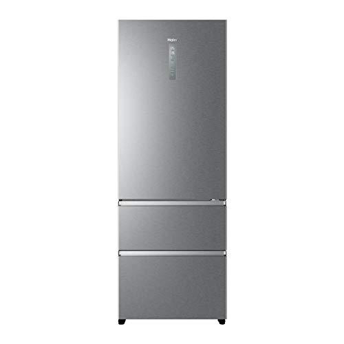 Haier A3FE744CPJ, Frigorifero con congelatore a cassetti, 70 cm, Libera Installazione