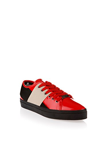 Armani Jeans Dames Sneaker Armani, rood, 36 EU