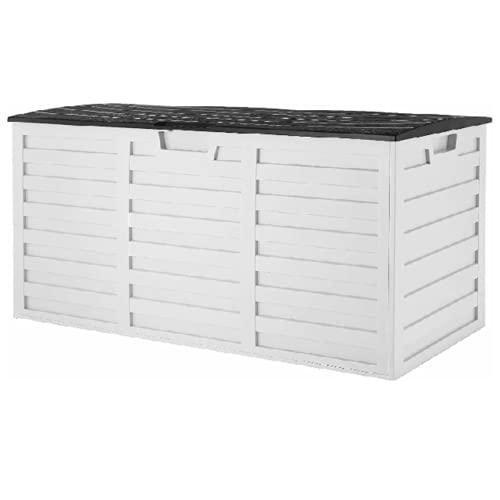 YINOX 265L Gartenmöbel Aufbewahrungsbox Outdoor Möbel Schutz Garten Deck Box Schrank Abdeckung Wasserdicht Langlebig Lagerung