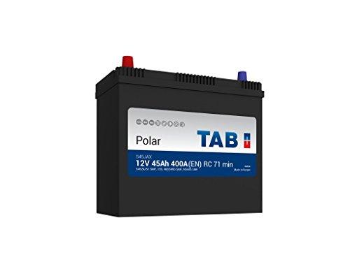 TAB Batterie Voitures Polar S Démarrage S45JAX BJ45G 12 V 45AH 400 AMPS (EN)