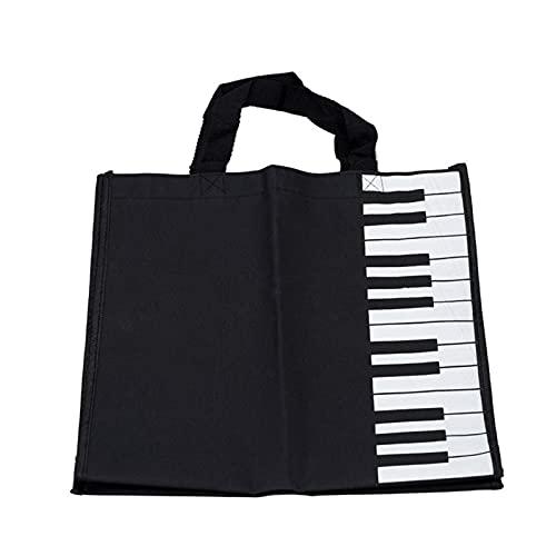 MAOFANG Chengfeng Commodities Klavierschlüssel Musik Handtasche Tote Einkaufstasche (Color : Multi)