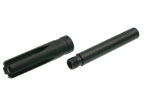 BEGADI Softair/Airsoft G36k Outerbarrel Verlängerung, passend auf 14mm- Gewinde