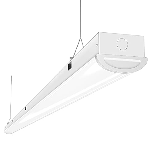 Tycholite 110W LED Shop Lights 8FT Linear Strip Light, 12000LM, 5000K, 8' LED Light Fixtures for Garage Warehouse Supermarket, 8 Foot LED Commercial Ceiling Lighting, Fluorescent Tube Replacement