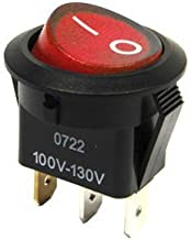 replacement rocker switch sr 06nr r red