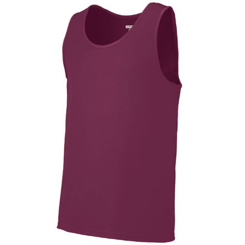Maroon Youth Large Athletic Training Tank Top