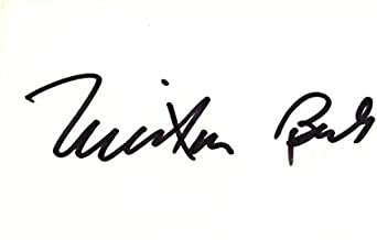 Milton Berle Signed - Autographed 3x5 inch Index Card - comedian and actor - Texaco Star Theatre - Deceased 2002