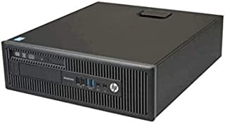 HP EliteDesk 800 G1 SFF Core i5 4570 8GB RAM 240GB SSD HDD DVDRW Win 10 (Renewed)