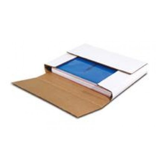50 LP Record Book Box Mailers & 50 Corrugated Insert Pads