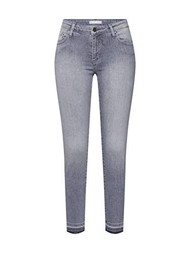 rich&royal dames Midi Slim Jeans, grijs (Denim Grey 800), 40 (fabrikantmaat: 2932)