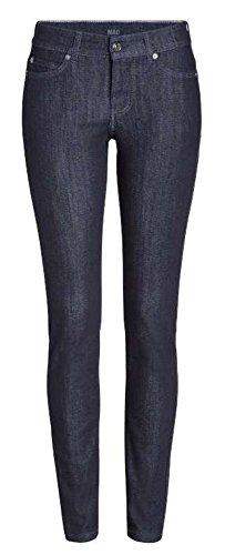 Mac Skinny Clean Jeans Dark Blue Rinsewash Damen D801 W46 L30