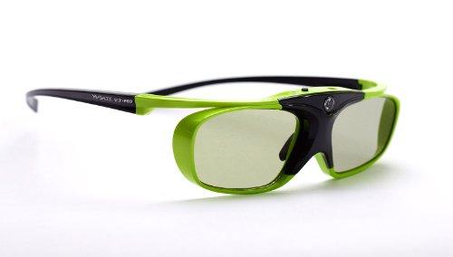 Hi-SHOCK Lime Heaven DLP Link 3D Brille für 3D DLP Beamer von Acer, BenQ, LG, Optoma, Viewsonic, Vivitec, Infocus, Casio | 96-200Hz wiederaufladbar