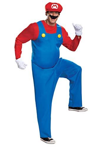 The Super Mario Brothers Mens Mario Deluxe Costume