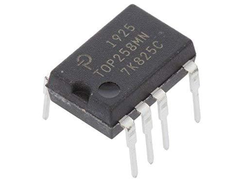 TOP258MN PMIC AC/DC switcher,SMPS controller 59.4÷72.6kHz SDIP-10C