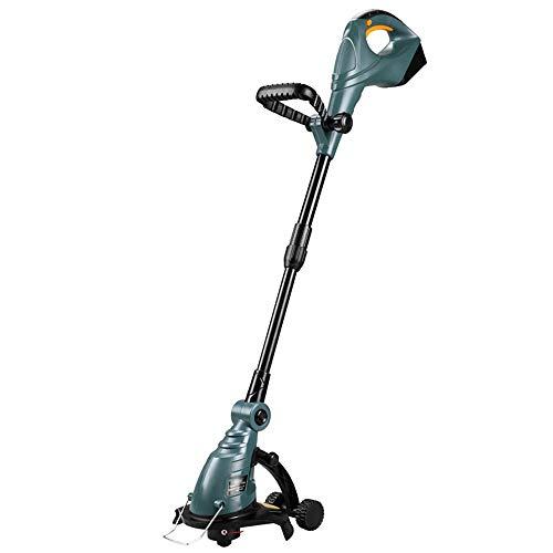 Sale!! ZAIHW Grass Trimmer Strimmer, Electric Grass Cutter Garden Tool, Adjustable Handle, 18V Recha...