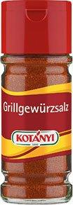 4x Kotanyi - Grillgewürzsalz