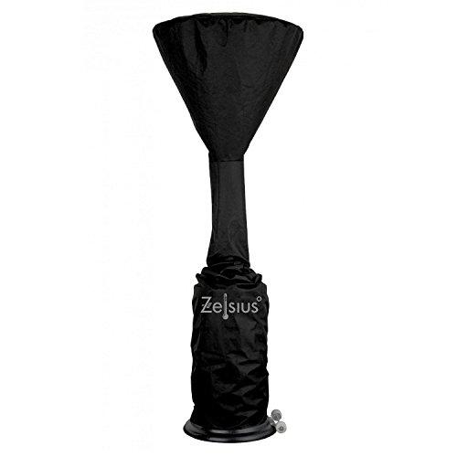 Zelsius - Abdeckhaube für Heizpilz, Abdeckung ca. Ø 70 x (H) 252 cm, Schutzhülle für Heizstrahler, Heizpyramide und mehr