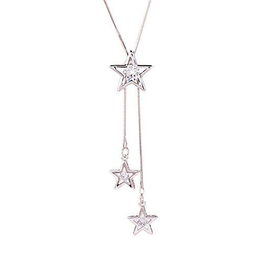 pentagramme Kentop /Épingle /à nourrice en cristal pour /écharpe