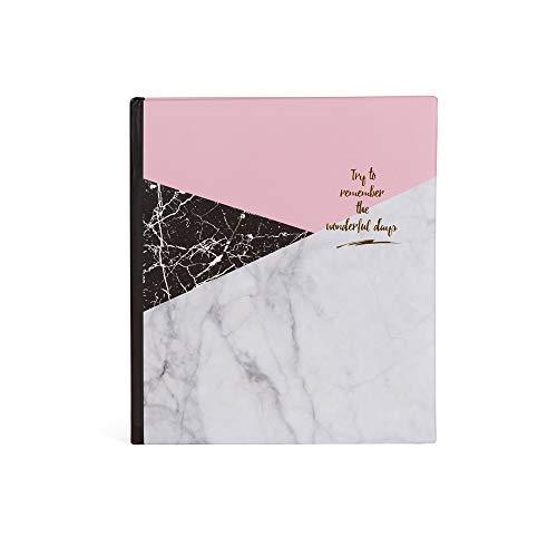 Hofmann | Álbum de fotos tipo eslipin| Capacidad para 100 fotos | Fotos: 11 x 15 c | Color interior blanca - memo