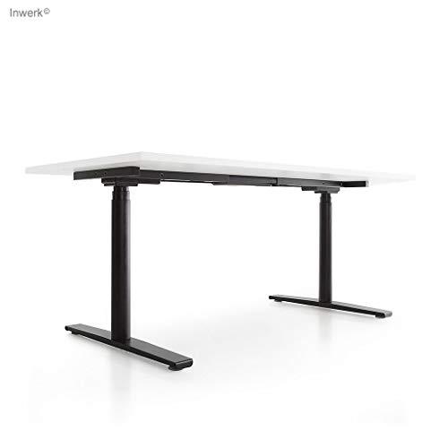 Höhenverstellbarer Schreibtisch Imperio Lift R (schwarz, 200)