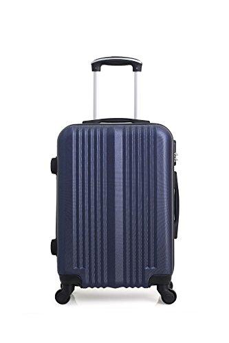 Hero Lipari Suitcase, 66 cm, 60 liters, Blue (Bleu Marine)