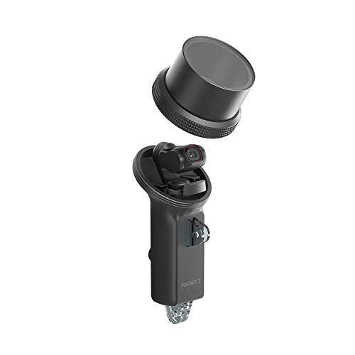 DJI Pocket 2 wasserfestes Gehäuse - Wasserdicht bis 60 m, Zwei Montagehalterungen für mehr Funktionalität, hochwertige Unterwasserbilder aufzunehmen, die blendfrei und verzerrungsfrei sind