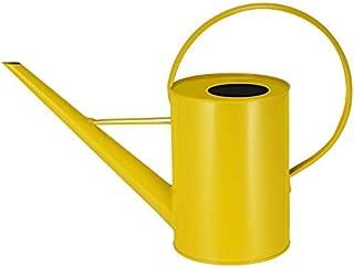 Asvert Watering Can Pot Long Spout Rustic Retro Textured Gardening Tools 1.5L/50oz (Yellow)