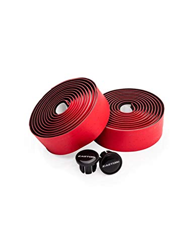 Easton - Bandeau de Guidon en Microfibre Rouge, pour Adultes, Unisexe, Taille Unique