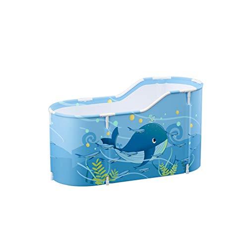 YILANJUN Falt Badewanne, Bathtub Folding Wannenbad Fass Mobile Faltbare Erwachsenen Wanne, Länger Und Breiter (Pink, Sternenhimmelfarbe, Blau)