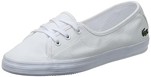Lacoste Damen Ziane Chunky BL 2 CFA Sneaker, Blanc (White/White), 40 EU