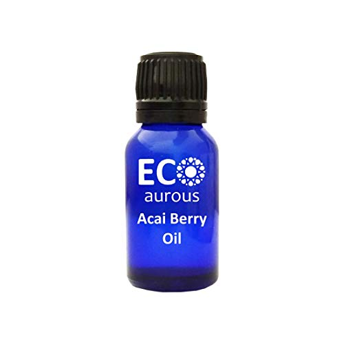 Acai Berry Oil (Euterpe Oleracea) 100% Natural, Organic, Vegan & Cruelty Free, Pure Essential Oil By Eco Aurous With Euro Dropper (30 ml)
